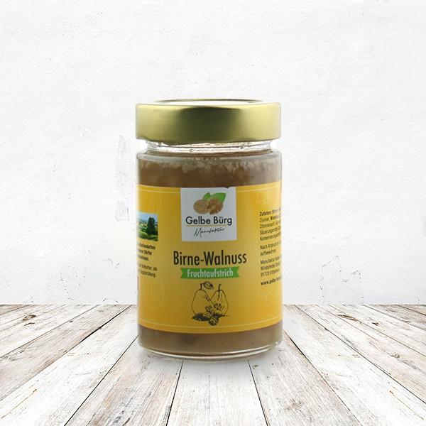 Fruchtaufstrich Birne-Walnuss 200 Gramm