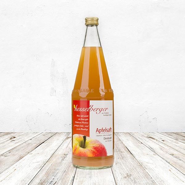 Apfel Direktsaft, naturtrüb