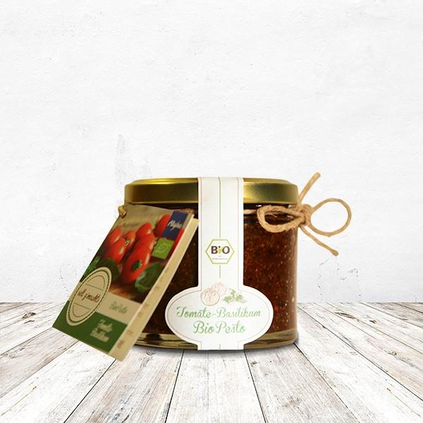 Tomate-Basilikum BIO-Pesto110 Gramm