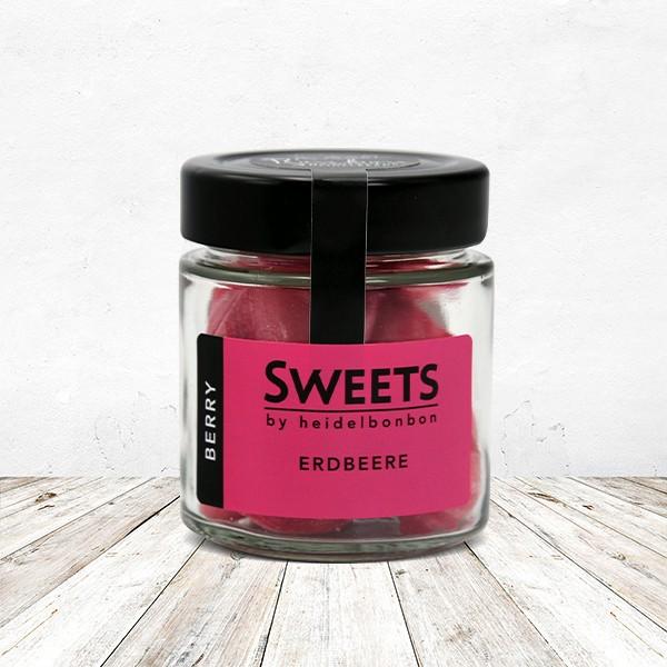 Bonbon Erdbeere im Glas 100 Gramm