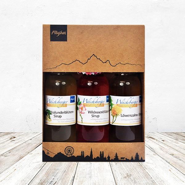 Genuß-Set Sirup Dreierlei 3x 100 ml