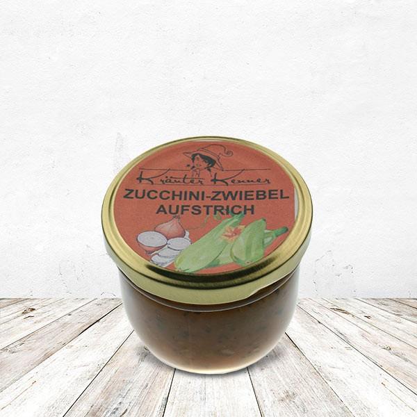 Zucchini-Zwiebel Aufstrich