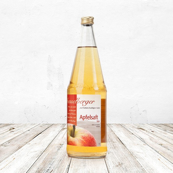 Apfel Direktsaft, klar