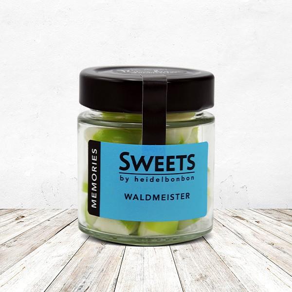 Bonbon Waldmeister im Glas 100 Gramm
