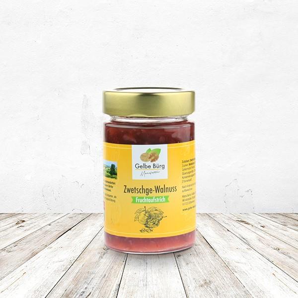 Fruchtaufstrich Zwetschge-Walnus 200 Gramm