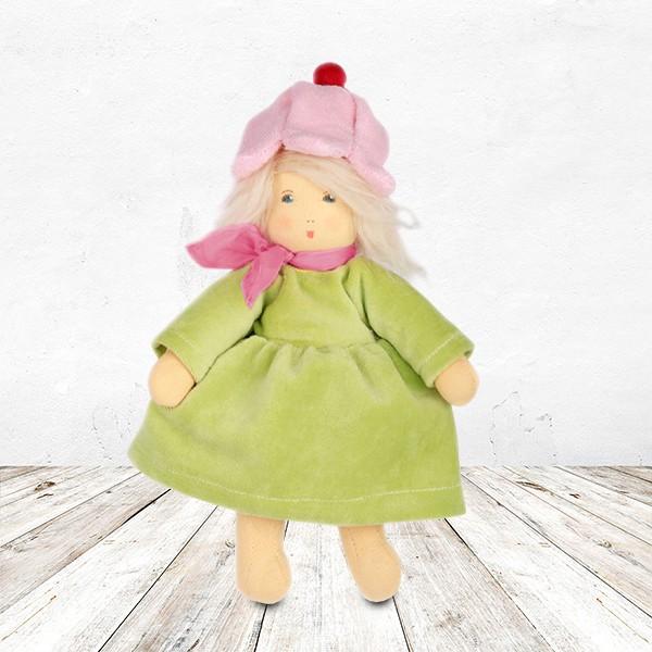 Nanchen Puppe Flocke Blümchen