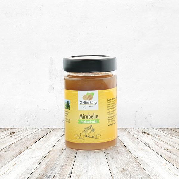 Fruchtaufstrich Fränkische Mirabelle 200 Gramm