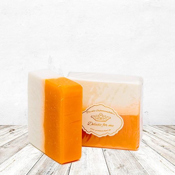 Apfel-Zimt-Orangen Seife