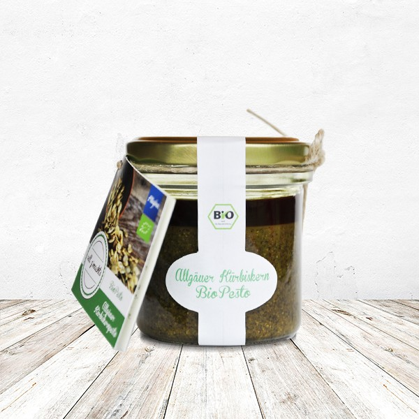 Allgäuer Kürbiskern-BIO-Pesto 110 Gramm