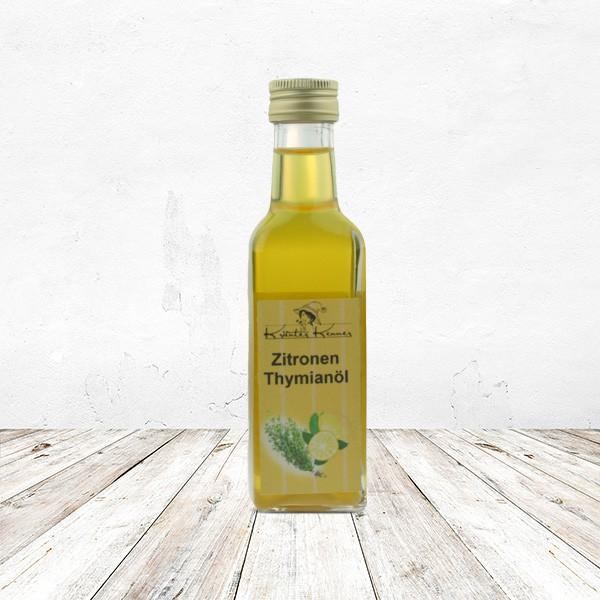 Zitronen-Thymianöl